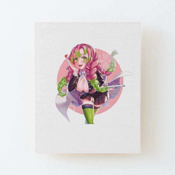 Laminas Montadas Mitsuri Kanroji Redbubble ꩜ — mitsuri kanroji moodboard. https www redbubble com es shop mitsuri kanroji mounted prints