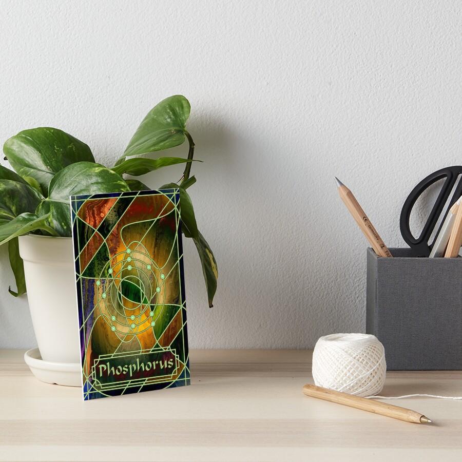 Element 15: Phosphorus Art Board Print