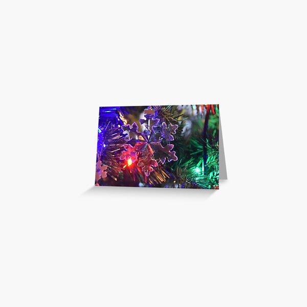 Kathleen's Ornament - SnowFlake Greeting Card
