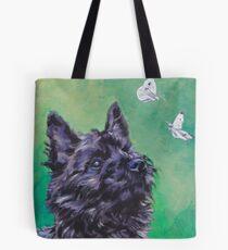 Cairn Terrier Fine Art Painting Tote Bag