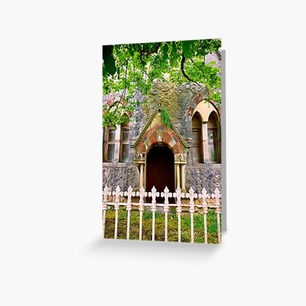The Jesuits, Sea Road, co Galway, Ireland Greeting Card