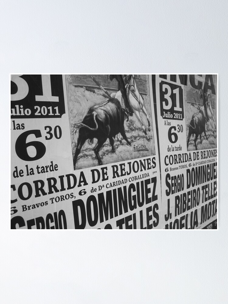 Alternate view of Torro Poster