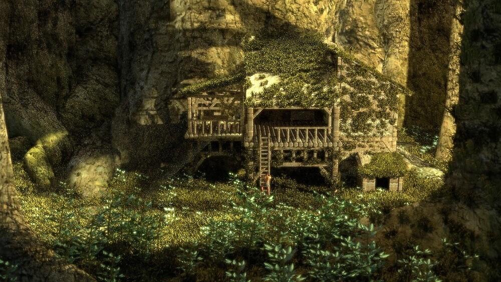 House in the jungle by TGDigitalART