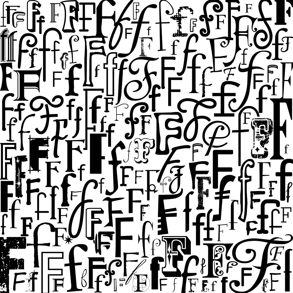 The Letter F by Julie Hartman