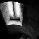 Lit stair by Dave Godden