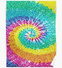 Rainbow Tie Dye 3 Poster