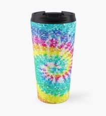 Rainbow Tie Dye 3 Travel Mug