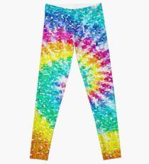 Rainbow Tie Dye 3 Leggings