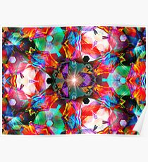 Three Layer Guinea Pig Abstract  (UF0412) Poster