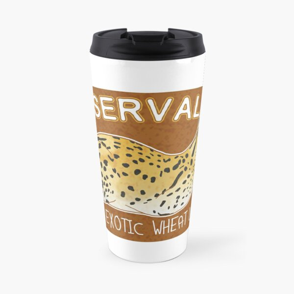 Organic Serval Loaf Travel Mug