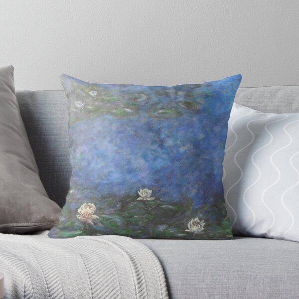 JewelBox Art Lilypond Blanc Coussin