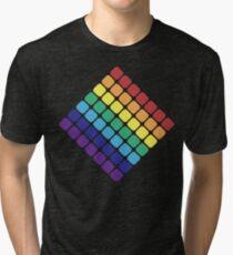 Rainbow Diamond Tri-blend T-Shirt