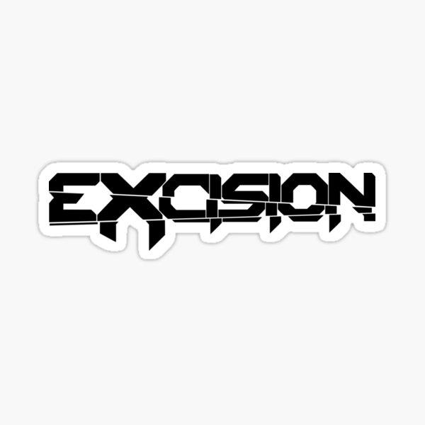 Excision logo Sticker