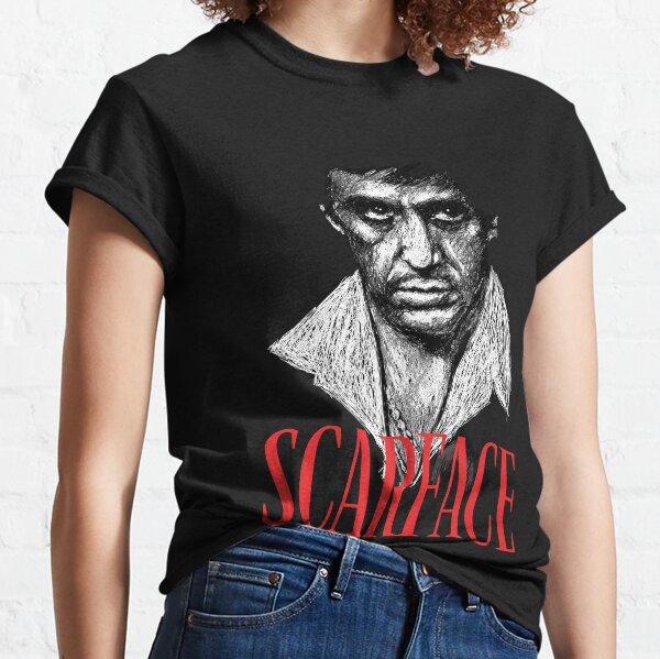 Scarface Tony Montana Icon Shirt Camiseta clásica