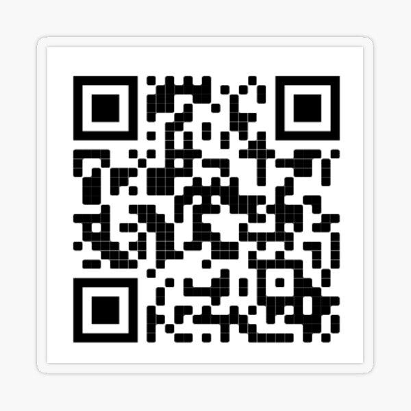 harry styles juice qr code Transparent Sticker