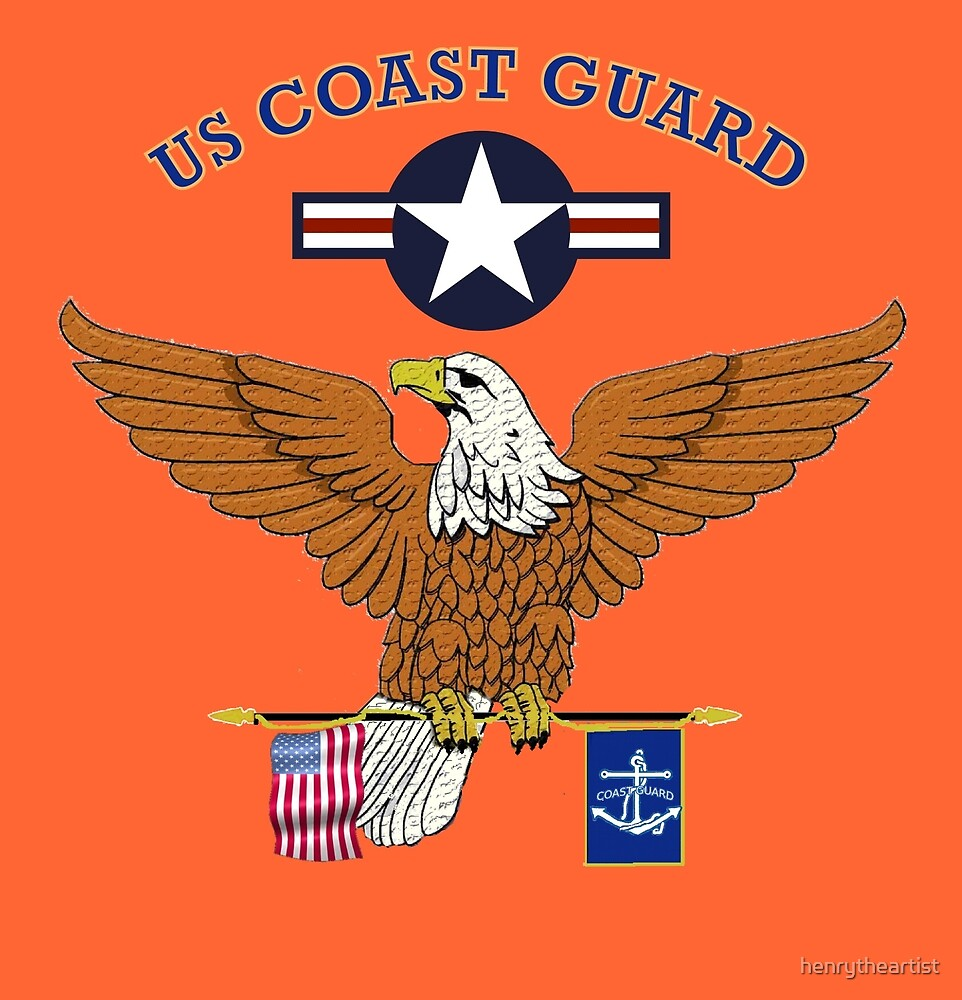 US Coast Guard by henrytheartist