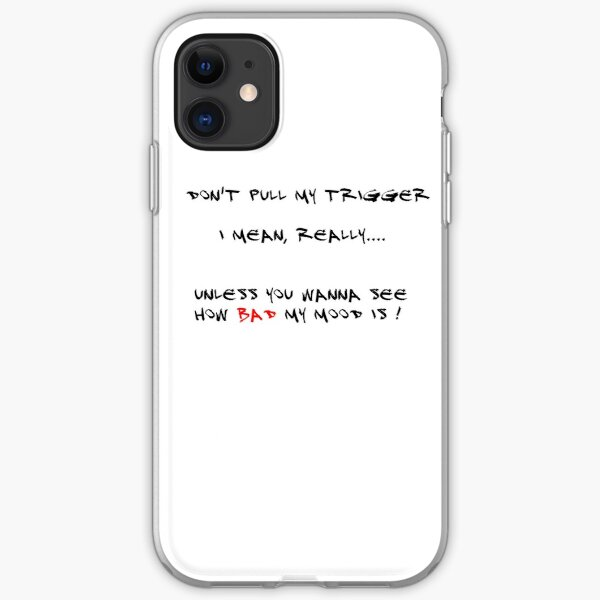Pull the triger iPhone Soft Case