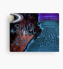 Space Ice  Canvas Print