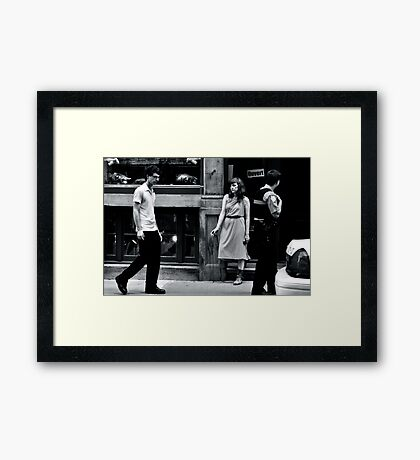 L'Ennui (Boredom) Framed Print