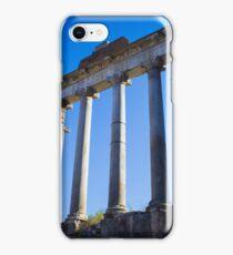 Temple of Saturn, Rome iPhone Case/Skin