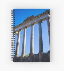 Temple of Saturn, Rome Spiral Notebook