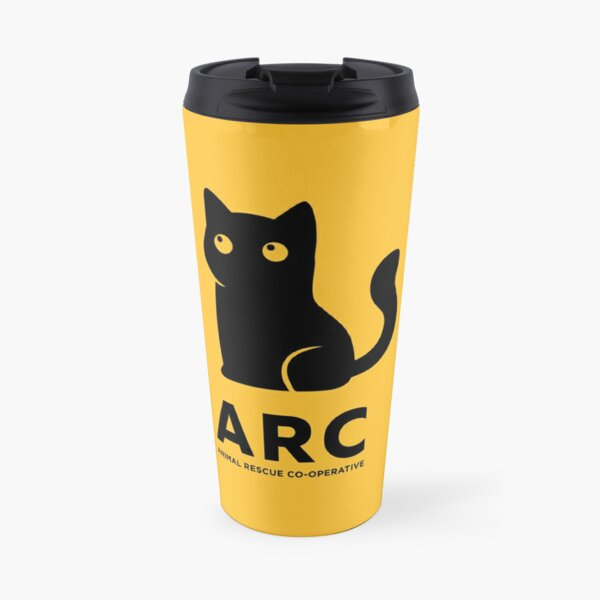 ARC Cat gear - Animal Rescue Co-operative Travel Mug