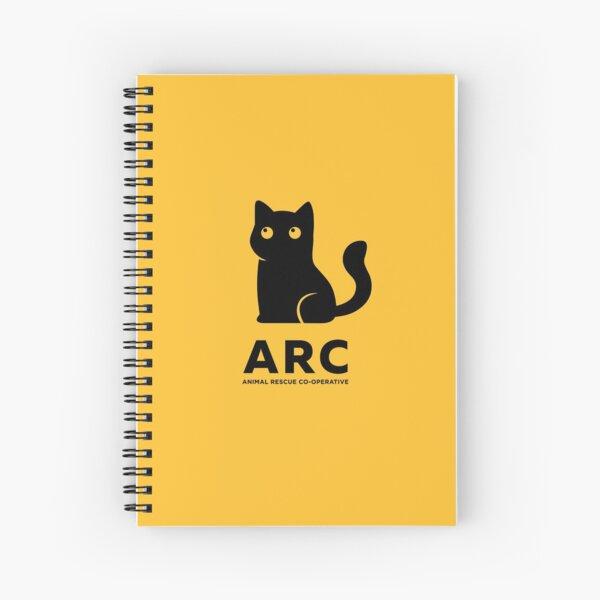 ARC Cat gear - Animal Rescue Co-operative Spiral Notebook