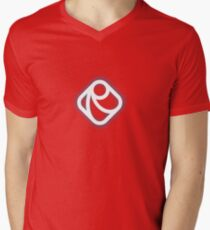 Raphaël.js Men's V-Neck T-Shirt