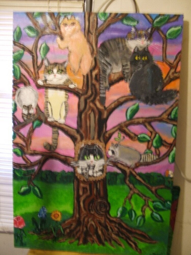 Cats in a Tree by evilgenius