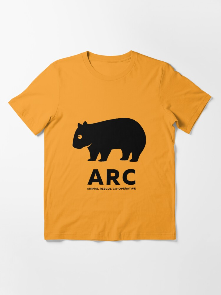 Alternate view of ARC Wombat gear - Animal Rescue Co-operative Essential T-Shirt