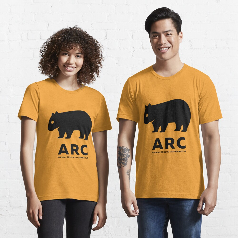 ARC Wombat gear - Animal Rescue Co-operative Essential T-Shirt