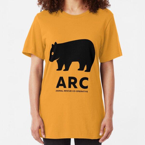 ARC Wombat-Ausrüstung - Animal Rescue Co-operative Slim Fit T-Shirt