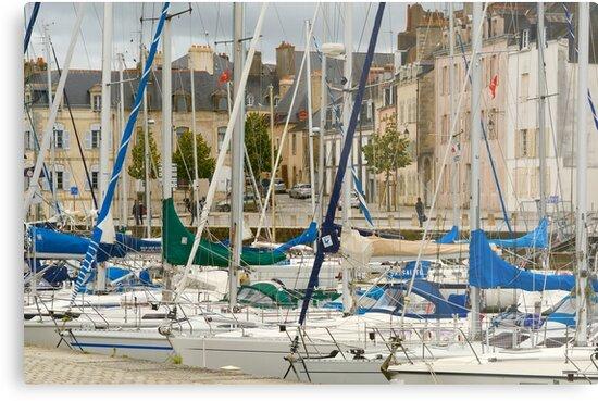 Vannes Harbour by Alexandra Lavizzari