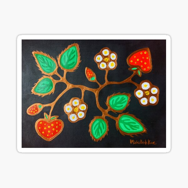 Odeminan (strawberry)  Sticker