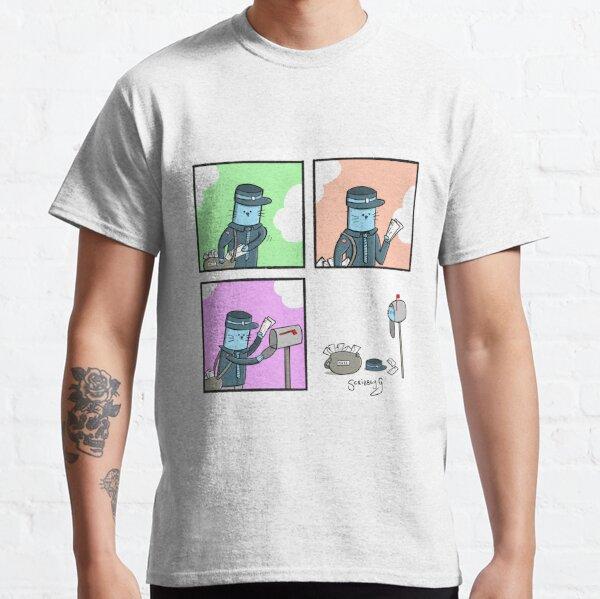 Postman Cat  Classic T-Shirt