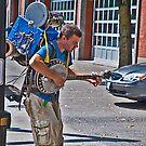 Street Performer, 2 by Bryan D. Spellman