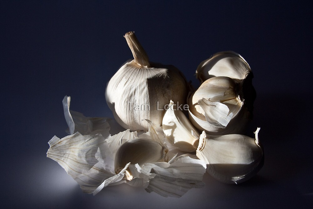 What garlic is to food, insanity is to art by Tam  Locke