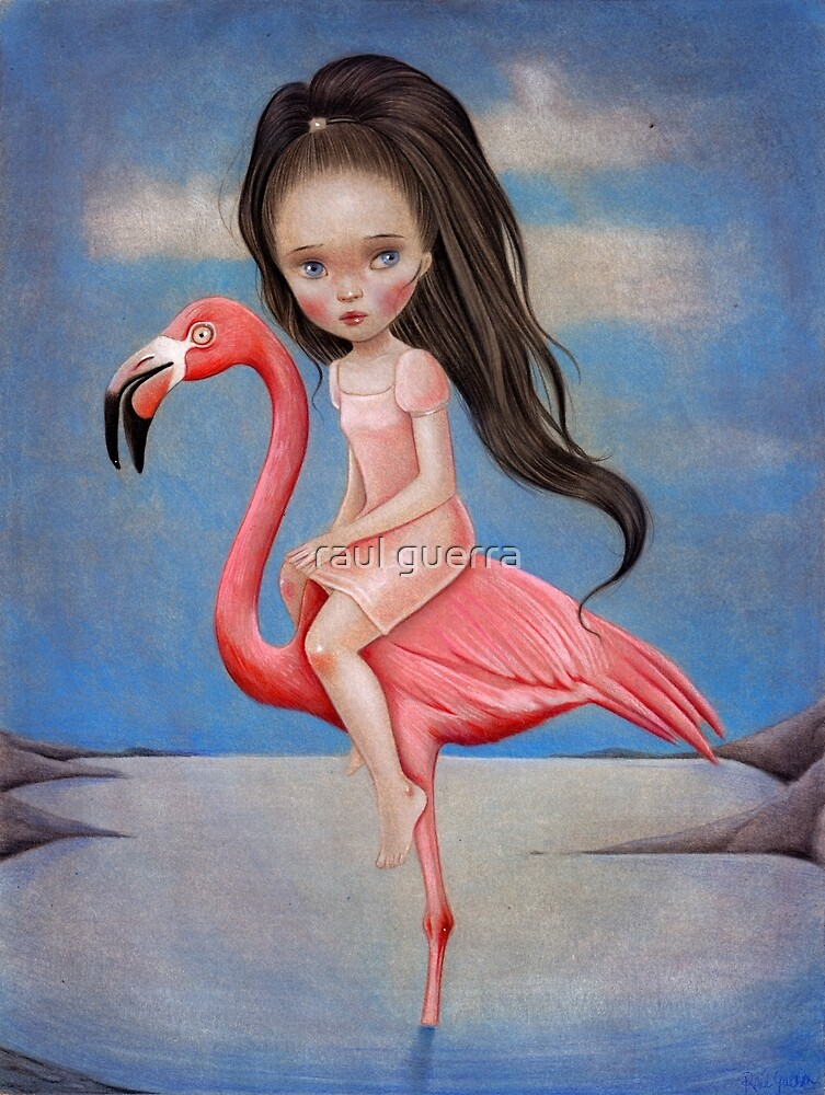 Flamingo Rider by Raul Guerra by raul guerra