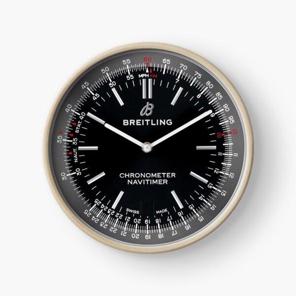 Bre Navitimer Clock