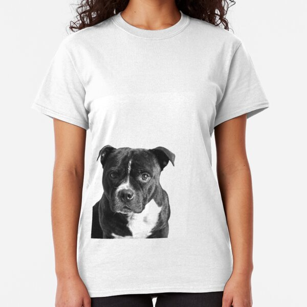 Eat Sleep Staffie Staffy Dog Birthday Funny Gift Present New T-shirt