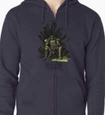 Nuclear winter is coming Zipped Hoodie