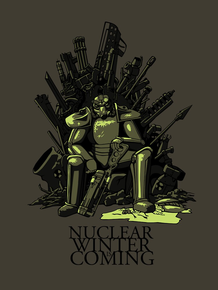 Nuclear winter is coming | Unisex T-Shirt
