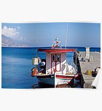 The Island of Crete. Poster