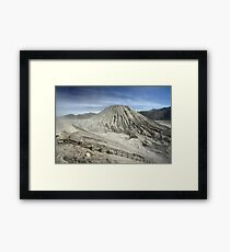 View from Bromo Mountain (Gunung Bromo) Framed Print