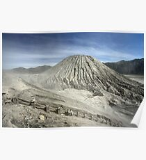 View from Bromo Mountain (Gunung Bromo) Poster