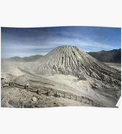 View from Bromo Mountain (Gunung Bromo) Poster