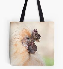 Bad Hair Day - silky rooster Tote Bag