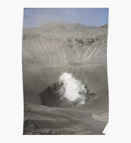 Caldera of Bromo Mountain (Gunung Bromo) Poster