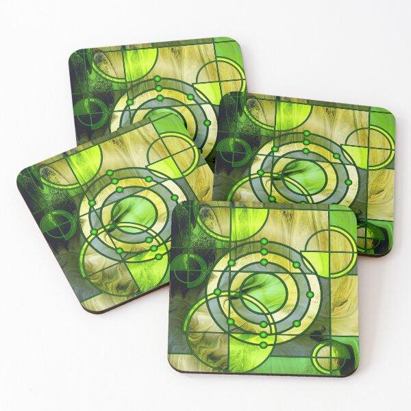 Element 12: Magnesium Coasters (Set of 4)
