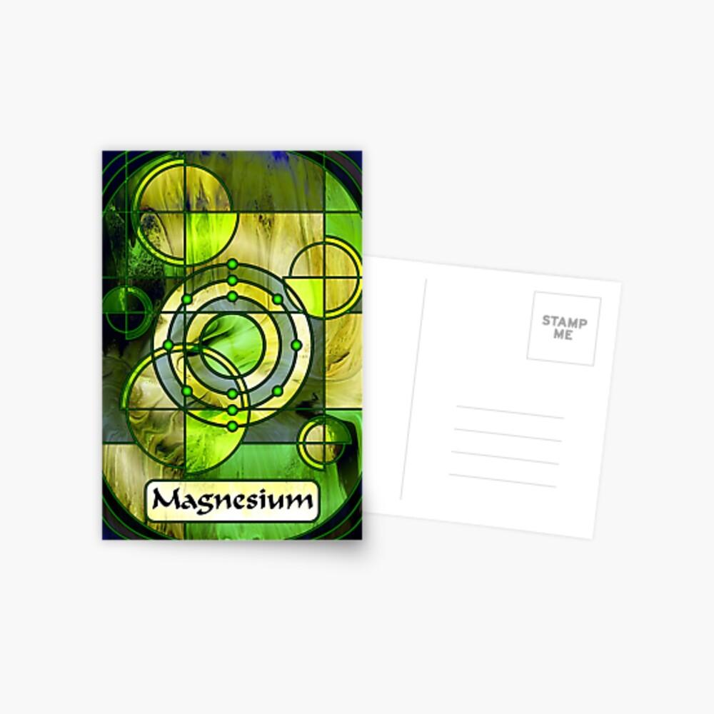 Element 12: Magnesium Postcard